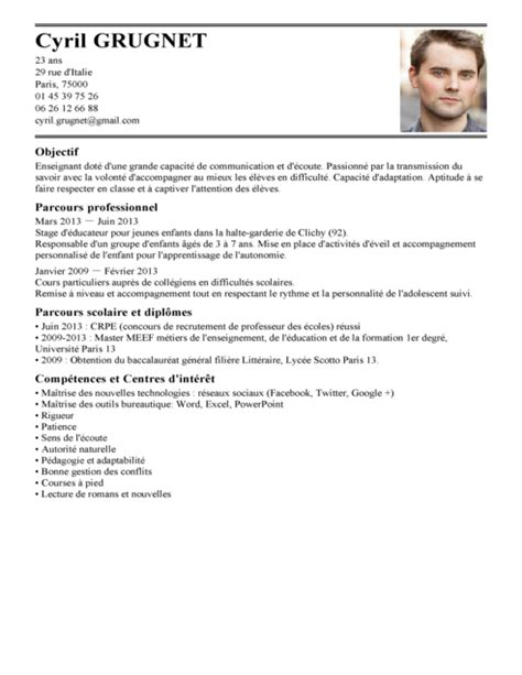 Lettre De Motivation Candidature Spontanée Consultant Junior Exemple Cv Francais Enseignant Cv Anonyme