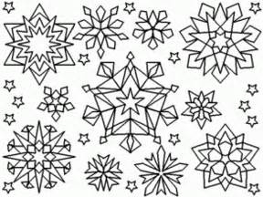 snowflake coloring pages free snowflake coloring pages coloring home