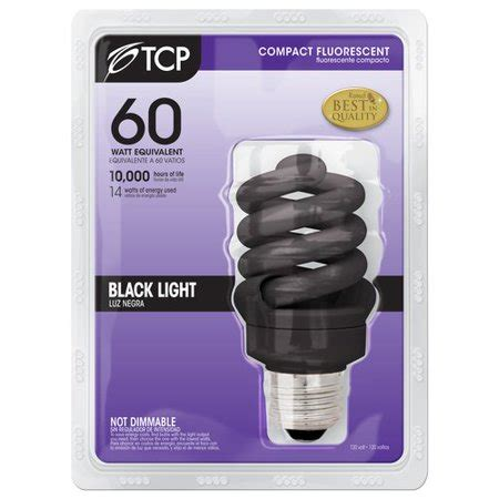 tcp 14w black light everyday walmart