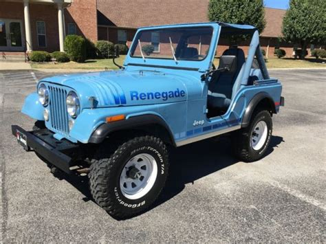 teal jeep for sale 1980 jeep cj5 renegade teal blue for sale jeep cj 1980