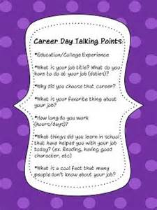 Career Day Presentation Outline by 17 Best Ideas About Career Day On Career Education Career Schools And Career