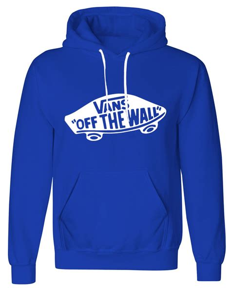 Hoodie Sweater Jumper Vans Of The Wall mens womens vans the wall printed fleece pullover hoodie otw sweatshirt lot