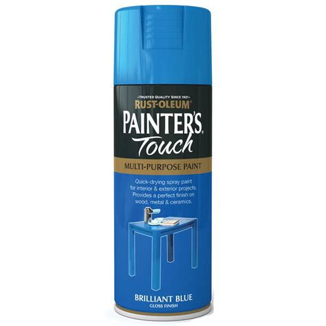 spray painter duties and responsibilities rust oleum painters touch brilliant blue gloss spray paint