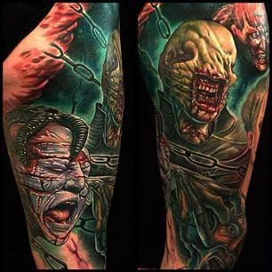 hellraiser tattoo hellraiser tattoos hellraiser tattoos