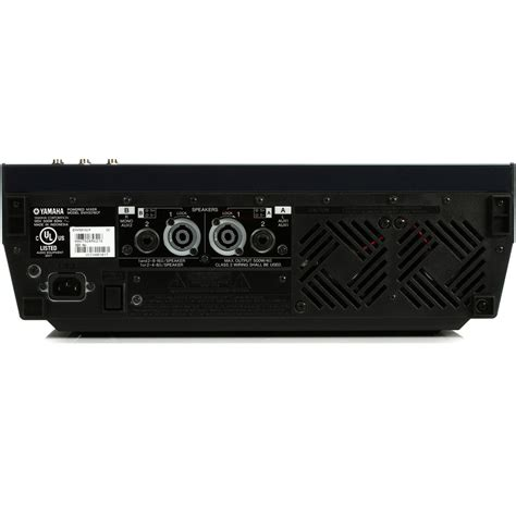 Mixer Yamaha Emx5016cf yamaha emx5016cf 500w 500w stereo powered mixer at gear4music