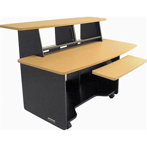 omnirax presto 4 studio desk black omnirax presto studio desk musician s friend