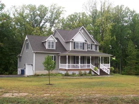 Cottage King George Va by Grey Colonial House Gray Construction New Home Builders