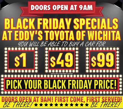 black friday toyota toyota black friday special 2015 savings sales event