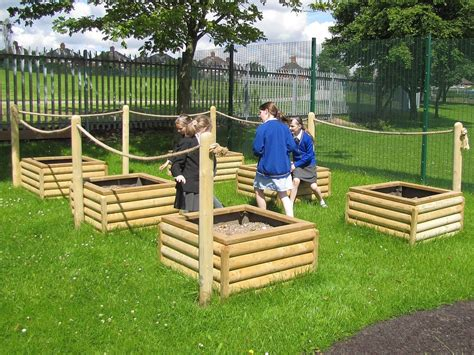 Log Planter Boxes by Log Planter Box H35cm Fawns Playground Equipment