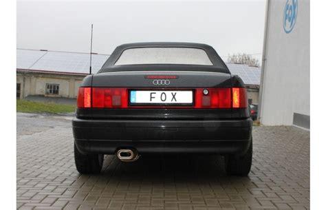 Audi 80 Sportauspuff by Fox Sportauspuff Audi 80 B4 Typ 8c Cabrio Bj 1991 1995