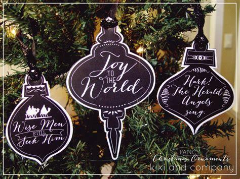 printable christmas ornaments free printable kiki