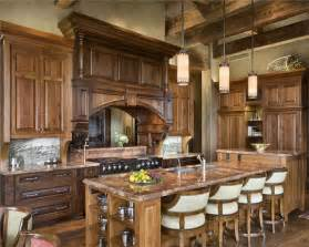 rustic country kitchen ideas open country rustic kitchen by jerry locati