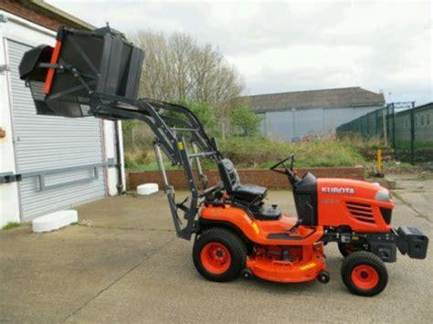 Kubota G26ii High Tip Diesel Ride On Tractor Lawnmowers Shop