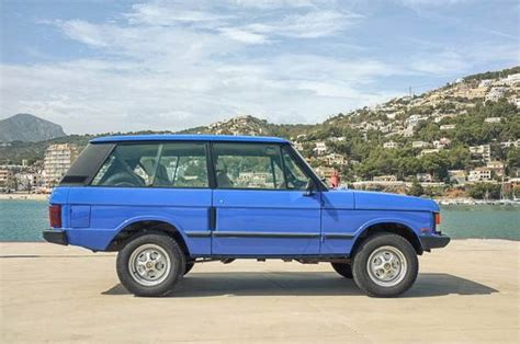 land rover two door sharp two door 1986 range rover diesel bring a trailer