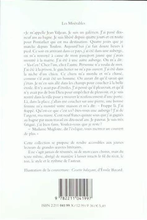 Les Miserables Victor Hugo Resume Française