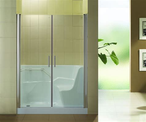 Handicap Bathtub Shower Combo by Hs B0001 Sliding Walk In Shower Door Walk In Tub Shower
