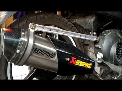 Knalpot Racing Akrapovic For Suzuki Satria F vario 150 esp akrapovic doovi