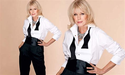 what style should a 27 year old have joanna lumley older women should embrace the mutton