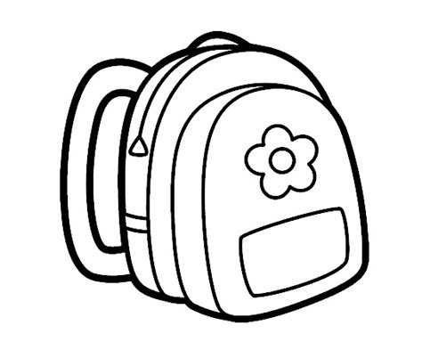 coloring page school bag crafts actvities and worksheets for preschool toddler and