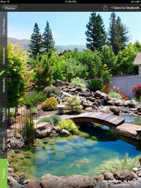 amazing backyards amazing backyard pond garden at home pinterest