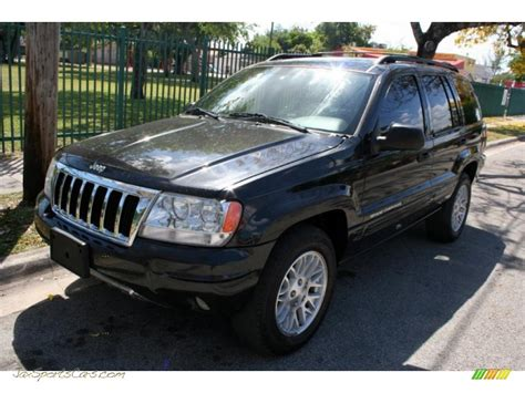 jeep limited black 2004 jeep grand cherokee limited 4x4 in brillant black