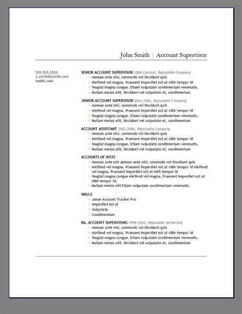 primer resume templates primer s 6 free resume templates open resume templates