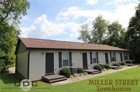 one bedroom townhomes miller street townhomes johnson city tn apartment finder