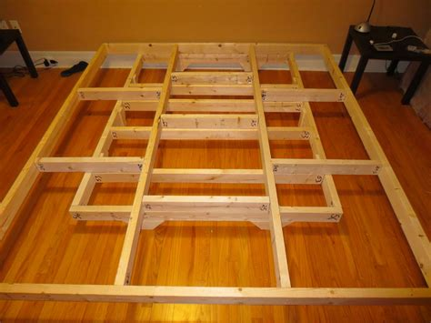 platform bed frame plans homemade beds also floating platform bed frame interalle com