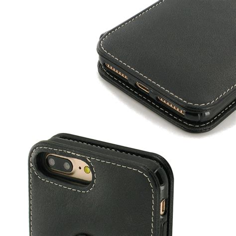 iphone 7 plus leather flip cover pdair sleeve pouch wallet