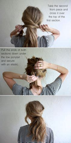how to pull my hair back like yoland foster step by step die 25 besten ideen zu zopffrisuren auf pinterest