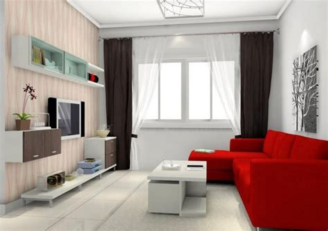 red livingroom stunning decorate modern white living room design ideas