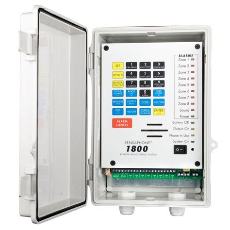 sensaphone 1800 series 8 channel remote monitoring system