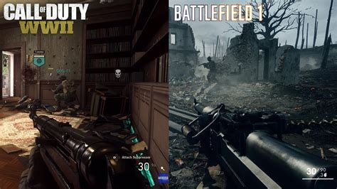 graphics battle battlefield 2 black call of duty ww2 vs battlefield 1 gameplay graphics