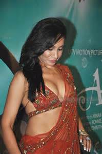 Holly Valance Married Sofia Hayat In Saree Deepest Cleavage Slip At Arjun