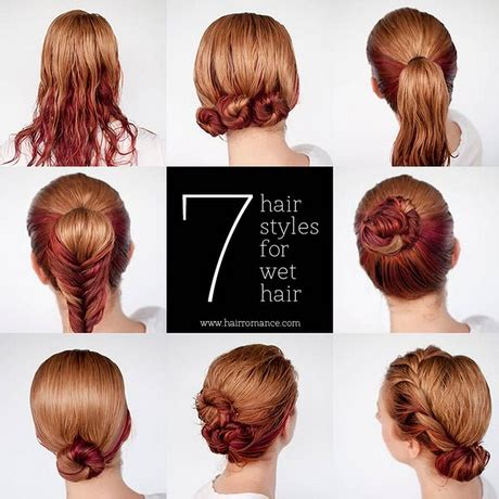 quick and easy romantic hairstyles fast easy hairstyles for medium hair