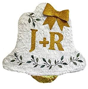 Wedding Bell Pinata by Personalized Wedding Bell Pinata Toys