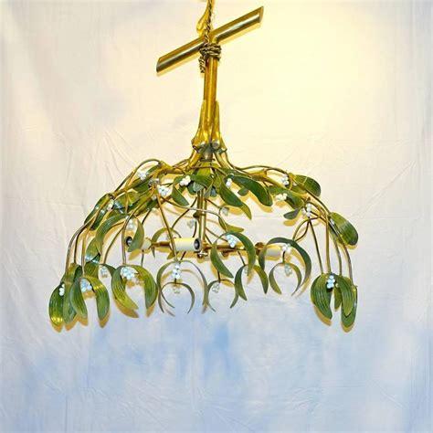 Large Mistletoe Chandelier For Sale At 1stdibs Mistletoe Lights