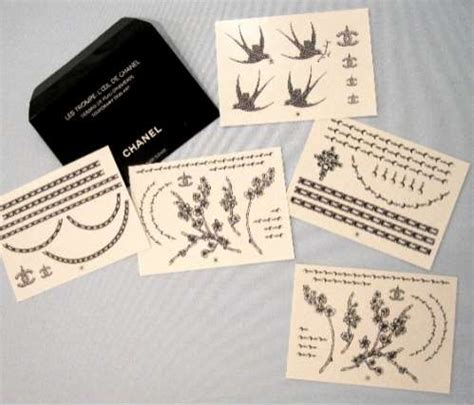 chanel tattoo designs temporary chanel tattoos chanel tattoos