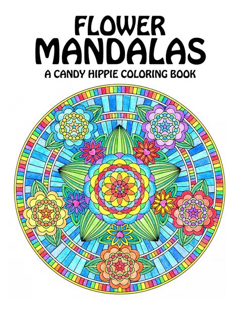 mandalas books flower mandalas coloring book printable mandala