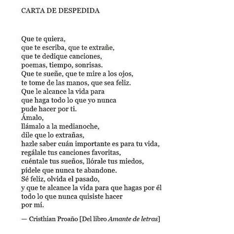 Carta De Despedida | 799 best images about frases on pinterest