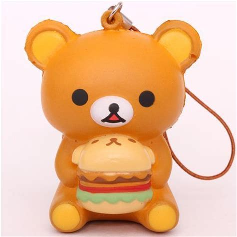 Squishy Rillacuma Burger 183 kawaii everything kawaii