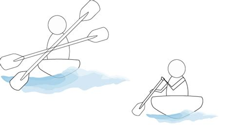 how to draw a boat paddle the gallery for gt kayak paddle drawing