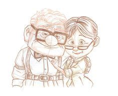 sketch with me carl ellie draw on disney princess drawings tiger drawing and drawi