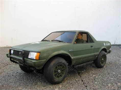 subaru brat custom 58384 subaru brat from soonsie showroom custom army brat