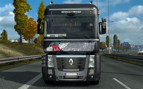 renault truck magnum euro truck simulator 2 renault magnum g 252 ncellemeleri v14 36
