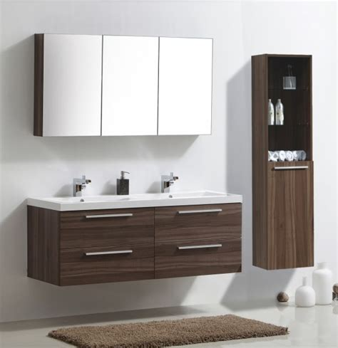 dark walnut bathroom furniture bathroom furniture set r1449 dark walnut with mirror cabinet and wall mounted