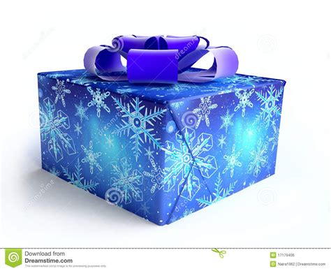 christmas gift box blue www imgkid com the image kid
