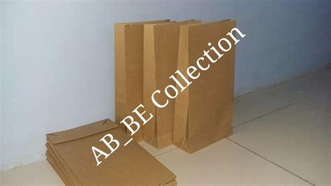 Harga Paper Bag Coklat Polos by Ulasan Produk Tas Kertas Paper Bag Coklat Polos Tanpa
