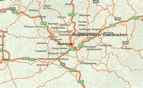 map of saarbrucken germany saarbr 252 cken location guide