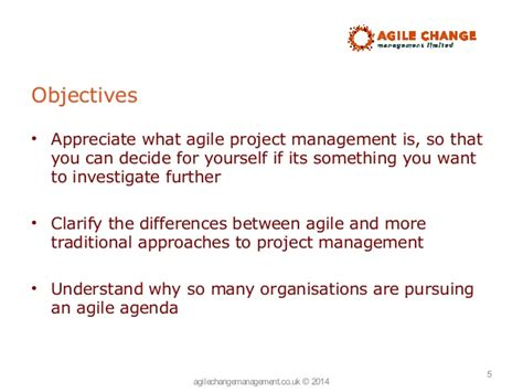 Why is everyone talking about agile project management
